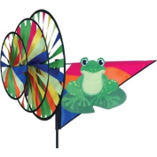 Triple Wind Spinner Armed Forces - Green Frog