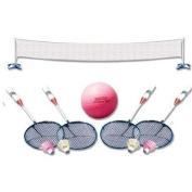 Poolmaster Across Pool Volleyball/Badminton Game Combo