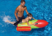 Water Sports Dive Rocket Inflatable Swimming Pool Aerobic Toy