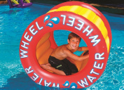 110cm Water Sports Inflatable Water Wheel Swimming Pool Raft Toy
