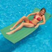 190cm Water Sports Sofskin Kiwi Green Floating Swimming Pool Mattress Raft