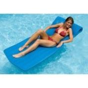190cm Water Sports Sofskin Blue Floating Swimming Pool Mattress