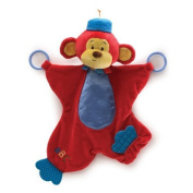 Colour Fun Circus Monkers Activity Blanket 41cm by Gund