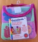 Garanimals Flower Garden Foam Playset From the Baby Bath Collection- 16 Mix & Match Pieces to Create Your Own Garden Scene!