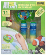 Animal Planet Wind Up Spinning Fish Bath Game