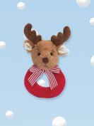Bearington Baby Lil' Reindeer Rattle