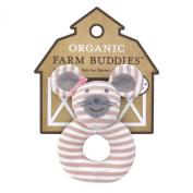 Organic Farm Buddies Rattle, Ballerina Mouse
