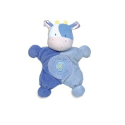 Comfort cuddly rattle toy in Pink - Asthma & allergy friendly