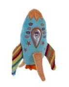 Maison Chic Rocket Rattle 18cm Blue