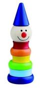 Wooden Baby Toy Stacking Pyramid Take Apart Clown