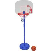 Stats Adjustable Child's Basketball Set