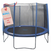 Upper Bounce 8 Pole Trampoline Enclosure Set (Trampoline not Included), 4.3m
