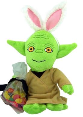 Yoda star wars stuffed animal w bunny ears easter brachs jelly yoda star wars stuffed animal w bunny ears easter brachs jelly beans easter gift negle Image collections