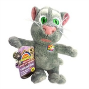 Talking Tom Cat Toy with Sounds - 8""