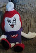 Ms. Dairy Queen Advertising Figural Small Cherry Dipped Vanilla Ice Cream Cone Plush Bean Bag Toy