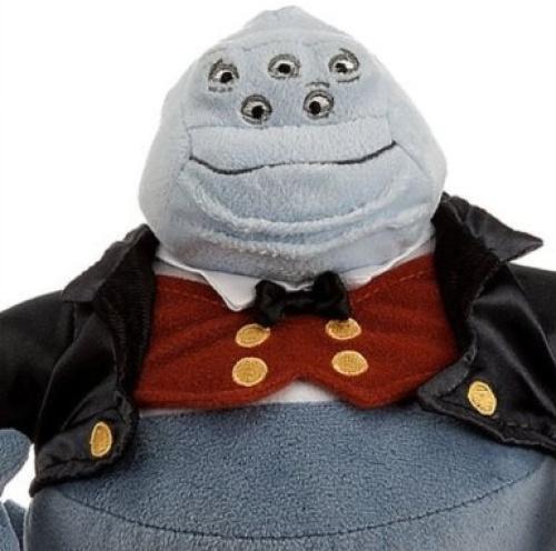 disney pixar monsters inc deluxe henry j waternoose plush 8 h 2012