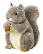 Aurora World Miyoni Grey Squirrel 25cm Plush