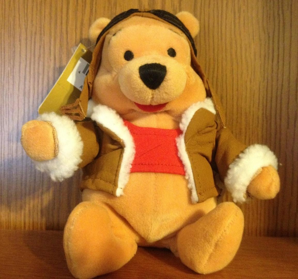 Disney Beanie Aviator Pooh 20cm by Disney - Shop Online for Toys in ... 1224e8b5e86
