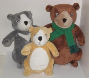 You're All My Favourites Kohl's Cares For Kids Plush Bears - Set of 3