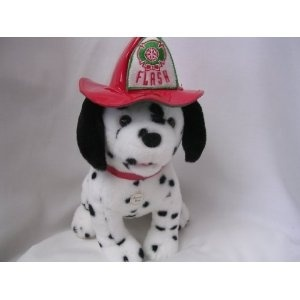 Fire Department 101 Dalmatian Dog Plush Toy 30cm Collectible With