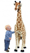 Melissa & Doug Giraffe Plush with Mini Tool Box