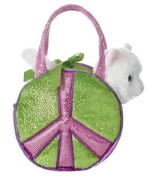 Aurora World Fancy Pals Peace Earth Plush Toy Pet Carrier