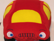 Speedy Cars Child Toddler Plush Stuffed Toy Pillow