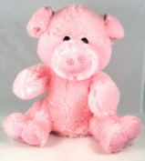 Adorable Soft Plush 25cm Pig Hand Puppet Kellytoy Farm Animals