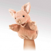 Folkmanis Puppets Plush Little Pig Puppet