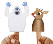 Small Felt Kit Rudolph And Bumble Puppets