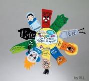 Rite Lite Judaic Plush Passover Finger Puppets, Set of Ten - 2013 Version