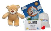 """Make Your Own Stuffed Animal """"Baby Bear"""" - No Sew - Kit With Cute Backpack!"""