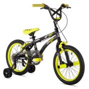 X-Games FS-16 Boys Bike (41cm Wheels), Black/Yellow