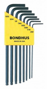 Bondhus 10932 Set of 8 Balldriver« L-wrenches, sizes .130cm