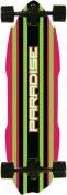 Paradise JW Stripe Complete Longboard, 27cm x 100cm