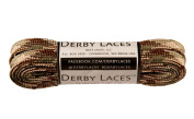 Camouflage 180cm Waxed Skate Lace - Derby Laces Roller Derby