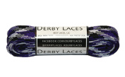 Purple Camouflage 180cm Waxed Skate Lace - Derby Laces Roller Derby