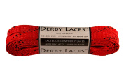 Red 180cm Waxed Skate Lace - Derby Laces Roller Derby