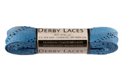 Sky Blue 180cm Waxed Skate Lace - Derby Laces Roller Derby