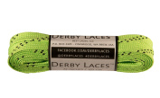 Lime Green 180cm Waxed Skate Lace - Derby Laces Roller Derby