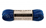 Blue 180cm Waxed Skate Lace - Derby Laces Roller Derby