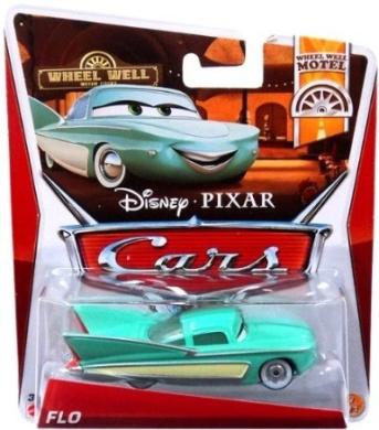 Disney Pixar Cars 2013 Diecast Flo Wheel Well Motel 7/11