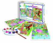 Fun Frag Aquarellum 6150 Painting Set Amazon Theme 3 Pictures to Paint