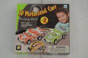 3D Motorised Cars Build & Play