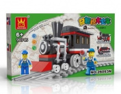 TRAIN Toy - BUILDING BLOCKS 90 pcs set LEGO parts compatible, Great Christmas Gift