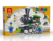 TRAIN Toy - BUILDING BLOCKS 82 pcs set LEGO parts compatible, Great Christmas Gift