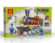 TRAIN Toy - BUILDING BLOCKS 99 pcs set LEGO parts compatible, Great Christmas Gift!