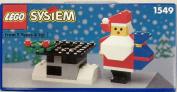 LEGO Christmas 1549 Santa Claus and Chimney