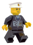 LEGO® City Policeman Minifigure Clock