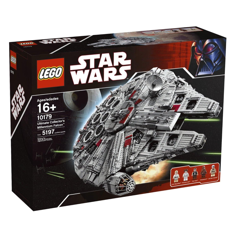 SW127 Lego Star Wars Millennium Falcon Han Solo Minifigure 10179 NEW